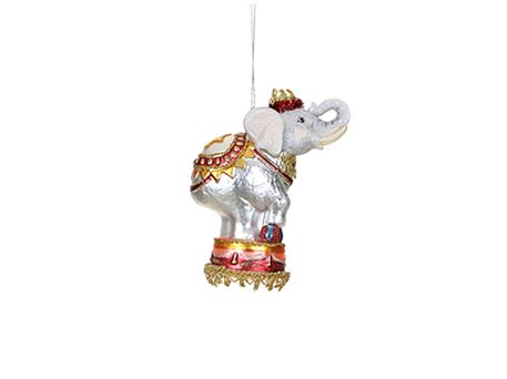 Ornament - Cirkus elefant