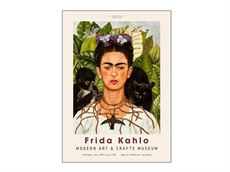 30 x 40 cm - Frida Kahlo - Art Exhibition Museum plakat