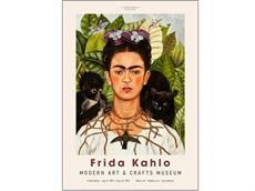50 x 70 cm - Frida Kahlo - Art Exhibition Museum plakat