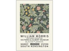 50 x 70 cm - William Morris plakat