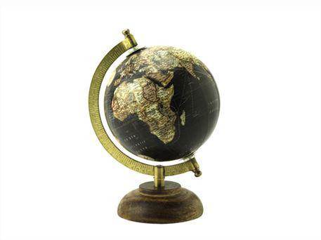 Lige ud Sjov dekorations globus i forskellige farver SI59