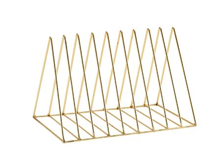 Magasin rack - messing