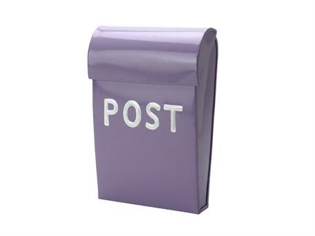Ultramoderne Lilla mini postkasse i flot design. Find farverige postkasser hos AF-21
